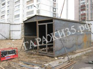 Купить металлический гараж Вологда Череповец